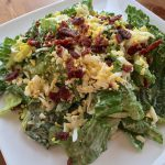 Onion Egg & Bacon Salad