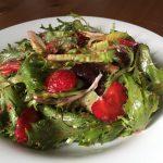 Strawberries & Greens