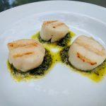 Scallops & Salsa Verde