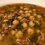 Chickpea & Chorizo Soup